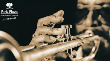 Close-up of trumpet fingering